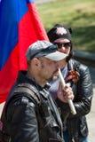 Dia da vitória no parque de Treptower berlim Foto de Stock Royalty Free