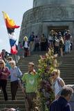 Dia da vitória no parque de Treptower berlim Imagens de Stock Royalty Free