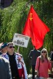 Dia da vitória no parque de Treptower berlim Fotos de Stock Royalty Free