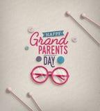 Dia das avós Fotografia de Stock Royalty Free