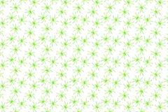 Dia das Bruxas - aranhas verdes - teste padrão do fundo Fotografia de Stock