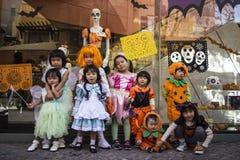 Dia das Bruxas em Kawasaki Japan fotografia de stock royalty free