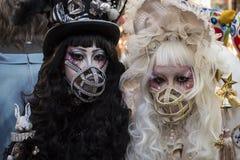 Dia das Bruxas em Kawasaki Japan Fotos de Stock Royalty Free
