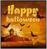 Dia das Bruxas feliz Imagens de Stock