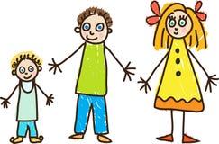 Dia das crianças ilustração royalty free