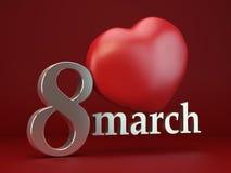 Dia das mulheres Imagens de Stock Royalty Free