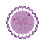 Dia das mulheres ilustração royalty free