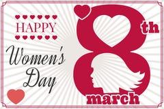 Dia das mulheres ilustração stock