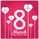 Dia das mulheres felizes Foto de Stock Royalty Free