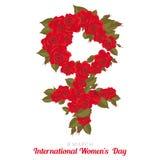 Dia das mulheres internacionais Fotos de Stock Royalty Free
