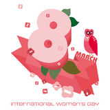 Dia das mulheres internacionais Fotografia de Stock Royalty Free