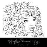 Dia das mulheres internacionais Imagem de Stock Royalty Free