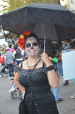 Dia de Лос Muertos дама Стоковые Фото