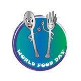 Dia de alimento de mundo Fotos de Stock