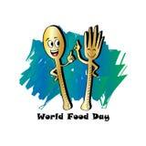 Dia de alimento de mundo Foto de Stock
