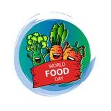 Dia de alimento de mundo Fotos de Stock Royalty Free