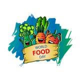 Dia de alimento de mundo Imagens de Stock Royalty Free