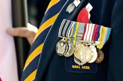 Dia de Anzac - cerimonia comemorativa da guerra Fotografia de Stock Royalty Free