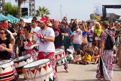 Dia de Brasil - Festival of Culture of Brazil Royalty Free Stock Image