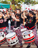 Dia de Brasil - festival de la cultura del Brasil. Barcelona Fotografía de archivo libre de regalías