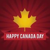 Dia de Canadá Ilustração do vetor Foto de Stock