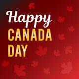 Dia de Canadá Ilustração do vetor Foto de Stock Royalty Free