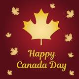 Dia de Canadá Ilustração do vetor Fotos de Stock Royalty Free