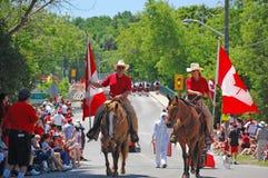 Dia de Canadá no vale Williams Imagens de Stock