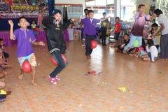 Dia de Children's em Tailândia fotos de stock