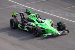 Dia de Danica Patrick Indianapolis 500 Pólo Indy 2011 Imagem de Stock