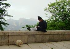 Dia a dia de Daoist fotografia de stock