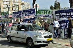 Dia de eleições em Israel Fotos de Stock