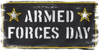Dia de forças armadas dos E.U. ilustração royalty free