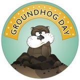 Dia de Groundhog Imagens de Stock Royalty Free