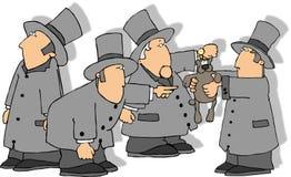 Dia de Groundhog ilustração do vetor