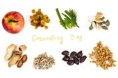 Dia de Groundhog imagens de stock