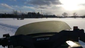 Dia de inverno calmo Imagem de Stock Royalty Free
