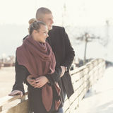 Dia de inverno ensolarado Fotos de Stock