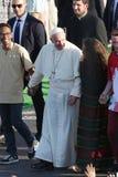 Dia de juventude de mundo 2016 - papa Francis imagem de stock