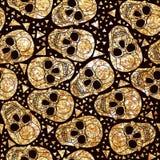 Dia de los Muertas Skull Royalty Free Stock Images