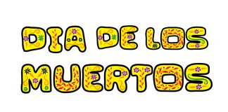 Dia de Los Muertos illustration stock