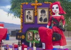 Dia De Los Muertos Fotografia Stock Libera da Diritti