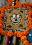 Dia de Los Muertos Art Immagini Stock Libere da Diritti