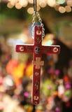 Dia de los Muertos Cross Immagine Stock