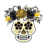 Dia de los muertos. Day of The Dead. Vector design element. Royalty Free Stock Images