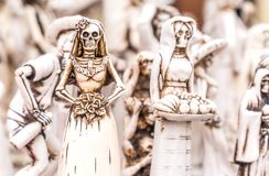 Day of the Dead figurine Stock Images