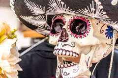 Day of the Dead figurine stock photos