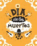 Dia de los muertos royalty free illustration