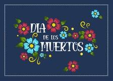 Dia de los Muertos poster stock image