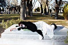 Dia De Los Muertos - Sadness Royalty Free Stock Photography